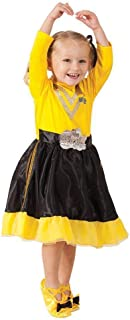 Rubie's The Wiggles Emma Wiggle Deluxe Costume, Toddler/Child,Yellow