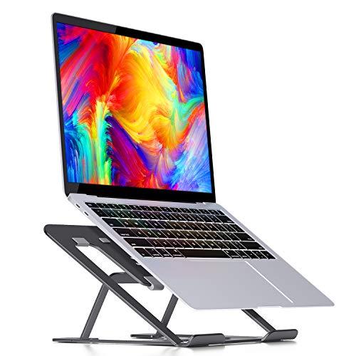 Savfy, supporto universale per laptop, in alluminio, ergonomico, portatile, pieghevole, per tablet da 10-15 pollici, Lenovo Thinkpad HP