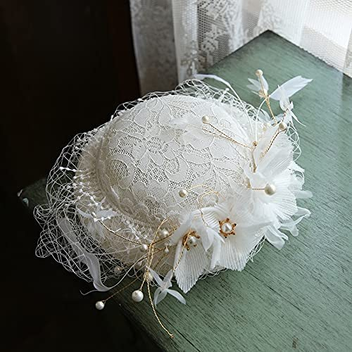 Elegant Wedding Hats and for overseas Woman free Brid Fascinators