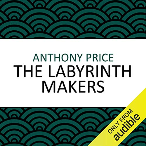 The Labyrinth Makers audiobook cover art