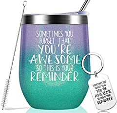 LOVE AT FIRST: Sometimes You Forget That You are Awesome. Your best friend, family & colleagues can feel your appreciation and encouragement no matter at home, office, driving or traveling when they received the gifts. INSPIRATIONAL GIFT: This funny ...