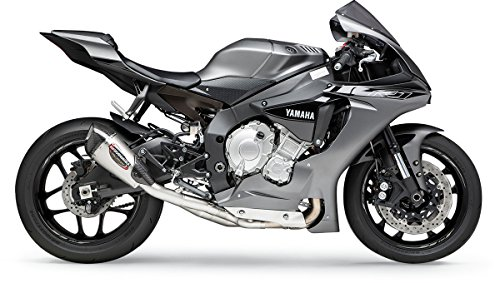Yoshimura Alpha T 3/4 System Exhaust (Race/Stainless Steel/Stainless Steel/Carbon Fiber/Works Finish) for 15-18 Yamaha YZF-R1