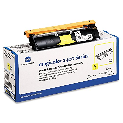 Konica Minolta Toner Cartridge YELLOW For Magicolor 2400 Series Toner für Laserdrucker (gelb, 1500 Seiten, Laser)