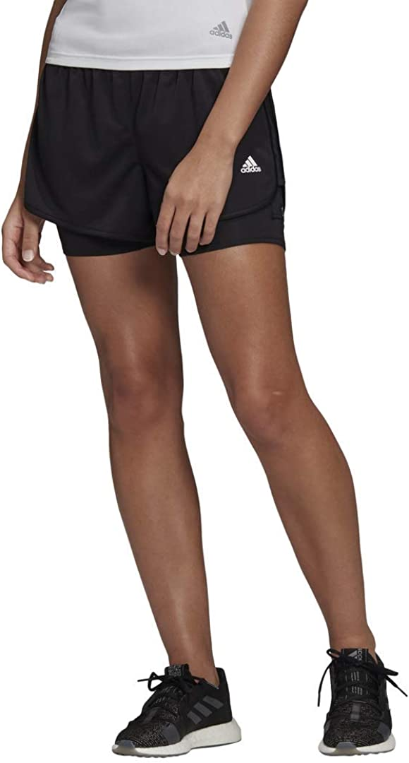 adidas Women's 2 in 20 Marathon Jacksonville Mall Memphis Mall Shorts 1