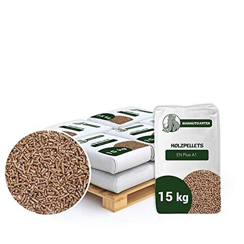 Holzpellets Kiefer Pellets Holz EN Plus A1 6mm 10 x 15kg (150 KG)