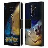 Head Case Designs Officiel Harry Potter Dobby Poster Chamber of Secrets III Coque en Cuir à...