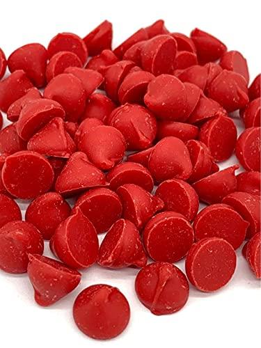 Cherry Baking Chips, Bulk Size, (1 lb. Resealable Zip Lock Stand Up Bag)