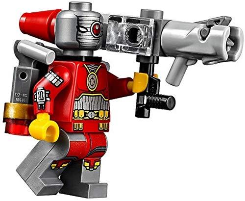 Lego Deadshot DC-Superhelden Superheld Batman Minifigur mit Waffe