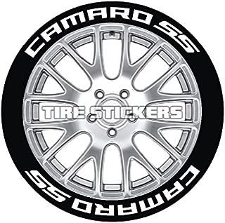 Camaro Tire Stickers - Permanent 1