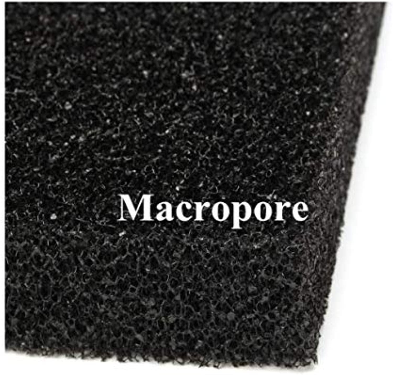 ChaRLes 100x100x5cm Black Aquarium Biochemical Filter Foam Cotton Sponge Fish Tank Pond  Large