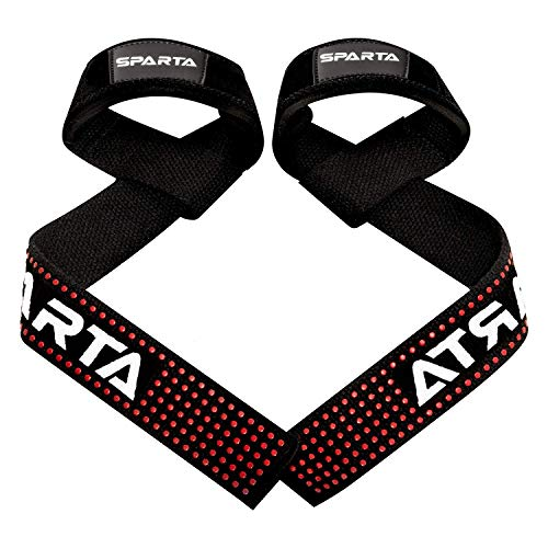 Weight Lifting Straps with Padded Wrist Support – Non Slip Advanced Flex...