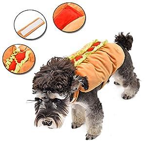Speedy Pet costume de déguisement Costume Cosplay Citrouille Hot dog pour chiot