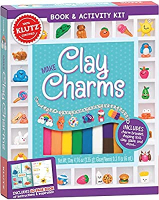 Multocolor Clay Charm Making Kit for Children