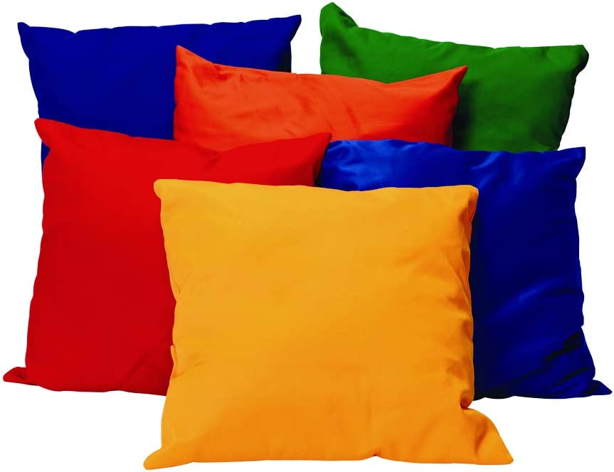 20 inch Square Bright Max 79% OFF Pillows by Washab - 6 Time sale Environments Set of