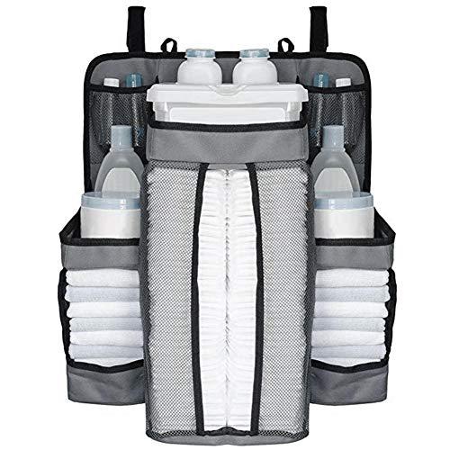 precauti Hängeorganizer Baby Wand Hängenden Hanging Storage Bag Windel Tasche Aufbewahrungstasche Hängenden Tasche Bett Hängenden Beutel Multifunktionale Wohnzimmer Schlafzimmer