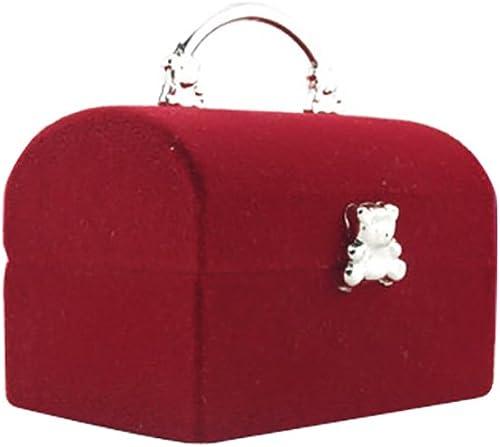 popular Mallfousa Wedding Engagement Velvet online Rings sale Storage Box Jewelry Display Organizer Case(Pink) sale