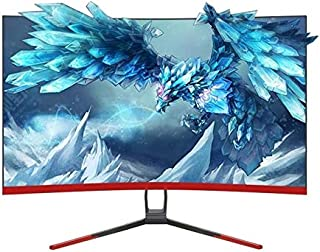 LZSHENG 27 inch 75Hz HD 1080P Curved Screen MVA LCD Display Gaming Monitor Without Frame