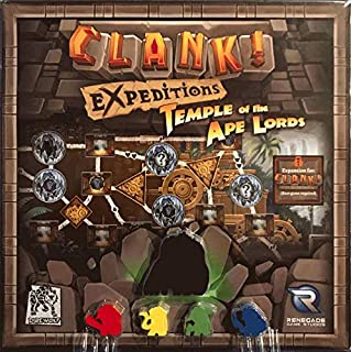 Renegade Game Studios Clank Expeditions Temple of The Ape Lords Board Game