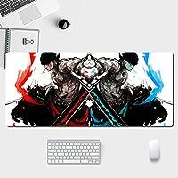 ワンピース マウスパッド/アニメマンガゲームマウスパッド/パーソナルコンピュータノートブックオフィスホームマウスパッド/防水滑り止め耐久性マウスパッド-A_400*900*3MM