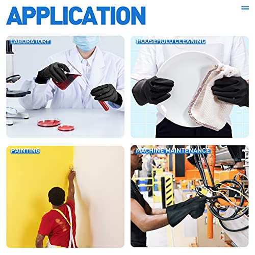 Product Image 6: ThxToms Dishwashing Gloves, 3 Pairs Reusable Latex Cleaning Gloves for Housework, Kitchen, Bathroom, Extra Large