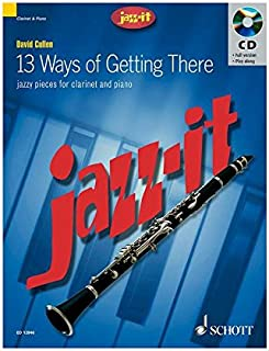 JAZZ IT - 13 WAYS OF GETTING THERE CLARINETTE +CD