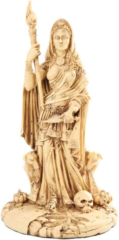 Greek White Goddess Hecate Sculpture Max 57% OFF of Athenian High material Cross Patroness