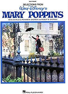 Mary Poppins: Easy Piano Vocal Selections