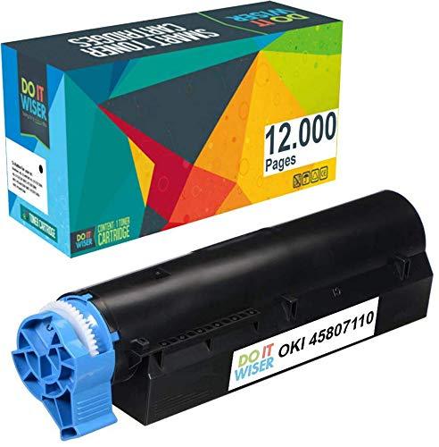 Do it Wiser Kompatible Toner als Ersatz für Oki B432DN B512DN MB492DN MB562DNW (12.000 Seiten)