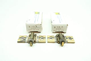LOT of 2 SQUARE D B10.2 Overload Relay Heater Element D659457