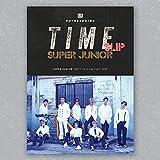 スーパージュニア - Time Slip [Random ver.] (Vol.9) CD+フォトブック+Folded Poster+KPOP MARKET特典両面フォトカードセット[韓国盤]