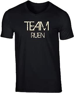 SHAMBLES TEES Team Sports Last First Name Ruen T Shirt