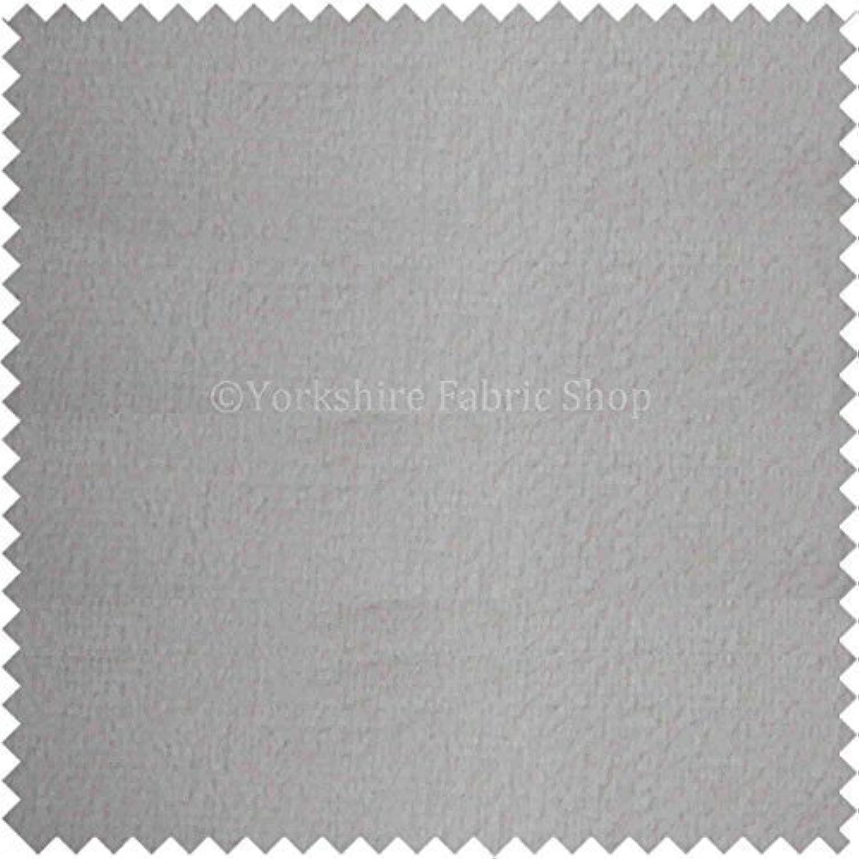 New Weich Texturiert Matte Oberfläche Schneewittchen Farbe Weich Samt Uni Polsterung Vorhänge Fabric B01M4R8NVE | Kompletter Spezifikationsbereich