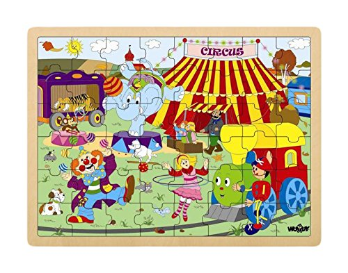 Woodyland Circus Big Puzzle Woody Puzzle