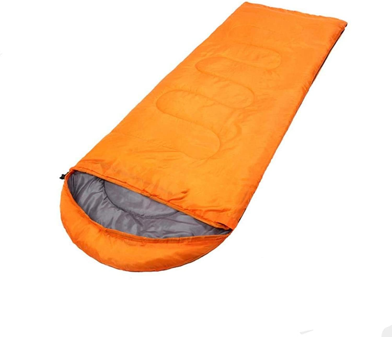 Sleeping Bag Adult Camping Equipment Sleeping Bag Windproof Warmth Hooded Practical Convenient Comfortable Lightweight Hiking Camping Sleeping Bag