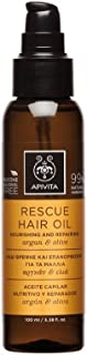 ApivitaRescue Hair Oil with Argan & Olive (For All Hair Types) 100ml/3.38oz
