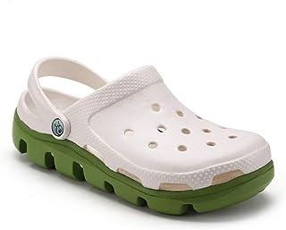 虹他哥 crocks Non-slip Soft Bottom Shoes Thick Bottom Baotou Slippers Sandals womens crocs (Color : E, Size : 39)