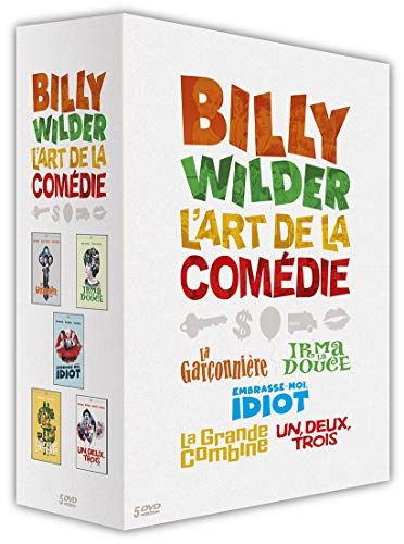 Billy Wilder: The Art of Comedy - 5-DVD Boxset ( The Apartment / Irma la Douce / Kiss Me, Stupid / The Fortune Cookie / One, Two, Three ) [ NON-USA FORMAT, PAL, Reg.0 Import - France ]