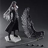 Final Fantasy VII: Sephiroth Decoración De Figuras De Acción Versión PA 28 CM / 11 Pulgadas