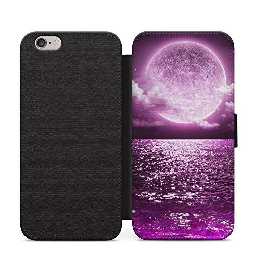 Moon Sea Dreamy - Funda de piel sintética para Samsung Galaxy S10, diseño de maravillas del mundo