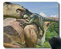 ロッキングエッジが付いているマウスパッド、恐竜恐竜のオフィスのマウスパッド