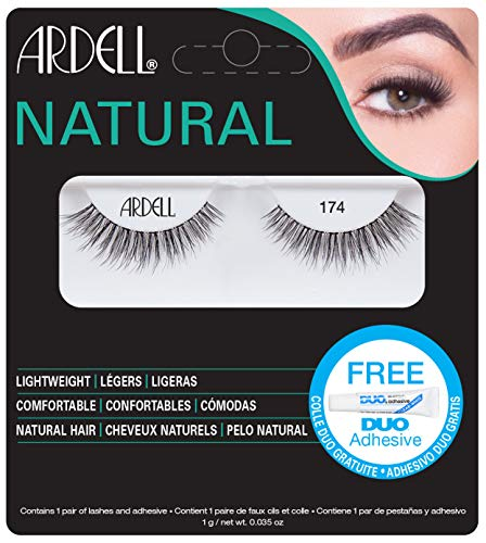 Ardell Natural Lashes - 174 Black