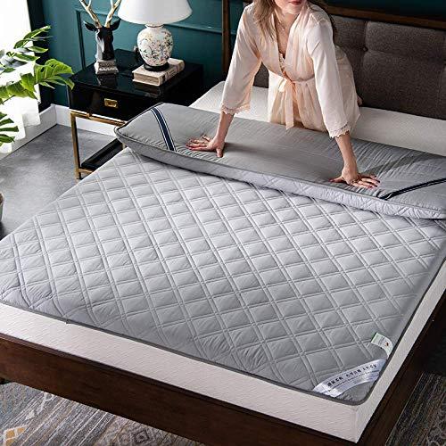 Estudiante de la Cama Anti-Diapositiva Scatter Tatami Mat de la Cama de Cama Solo 1.2 / 1.5m1.8 m Colchón Antibacteriano de algodón-a  90x200 [5 cm de Espesor]