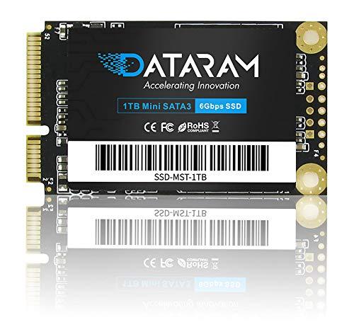DATARAM mSata SSD, Internal Solid State Drive Mini Sata Disk (1TB)