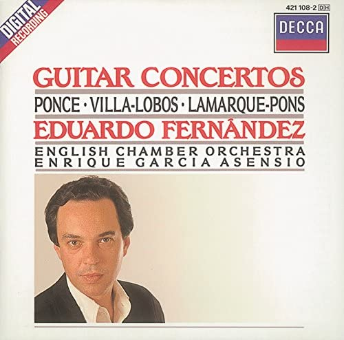 Eduardo Fernández, English Chamber Orchestra & George Malcolm