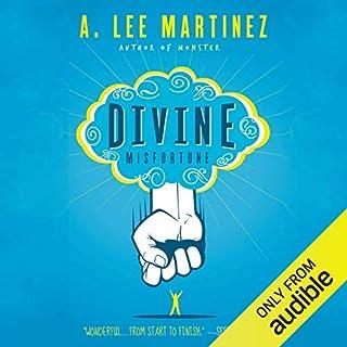 Divine Misfortune audiobook cover art