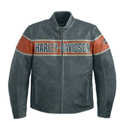 Harley-Davidson Victory Lane Leather Jacket–98057–13VM