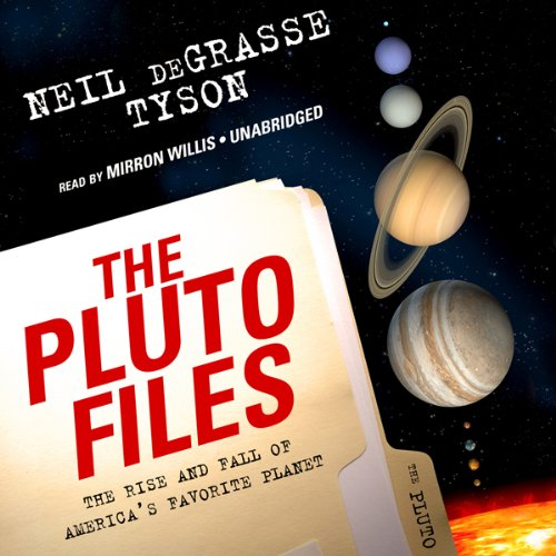 The Pluto Files audiobook cover art