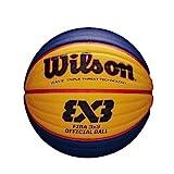 Wilson WTB0533XB Pelota de Baloncesto Fiba 3x3 Caucho Interior y Exterior,...