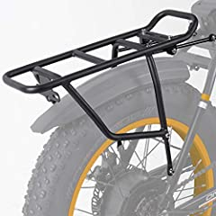 APPLICATION - We only confirm that this bike rear rack can perfectly fit for RADMINI and ONWAY HF-201701D. MATERIAL - Made of Aluminum alloy, Light and sturdy, waterproof. USE INSTRUCTIONS - Easy to use and easy to install. Installation instructions ...