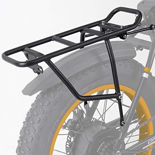 Rear rack compatible with Radmini fat bikes.